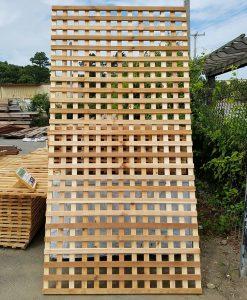 Western Red Cedar Lattice Paneling