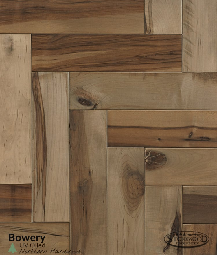 Bowery Maple Flooring - Oiled Hardwood