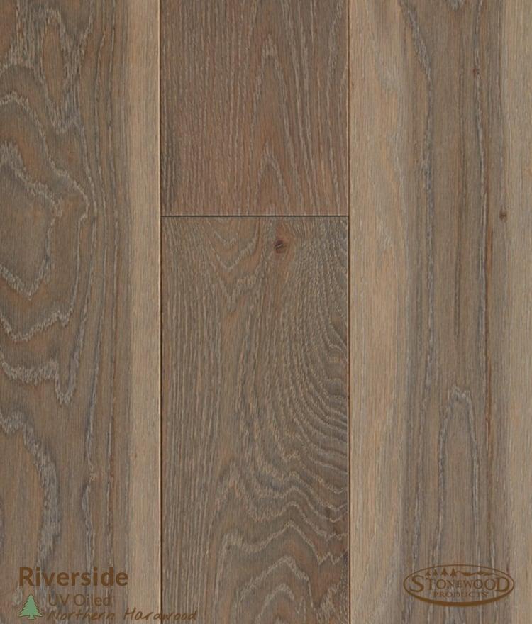 Pre-Oiled Riverside White Oak Hardwood Flooring