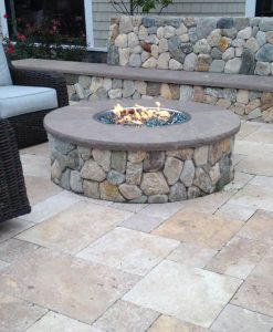 Fire Pits Stone And Regular Kits