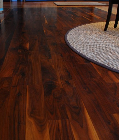 walnut hard wood floors