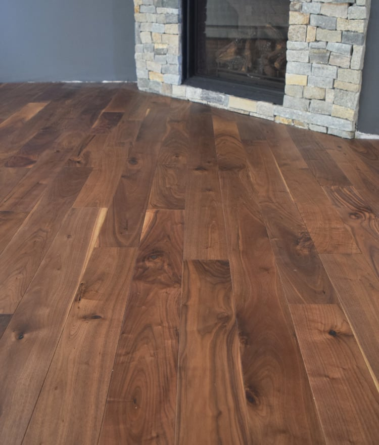 Walnut prefinished flooring cape cod ma hardwood flooring for Flooring cape cod