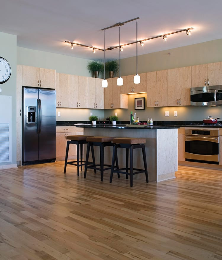 Pictures Of Kitchens With Hickory Floors