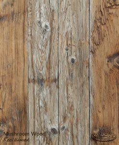 reclaimed mushroom wood