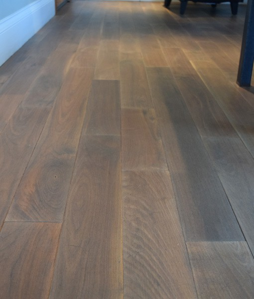 Walnut prefinished hardwood flooring cape cod for Prefinished flooring