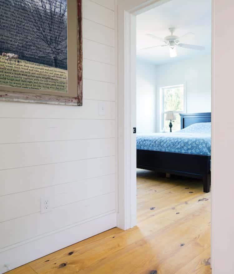 Primed Pine Cottage Paneling