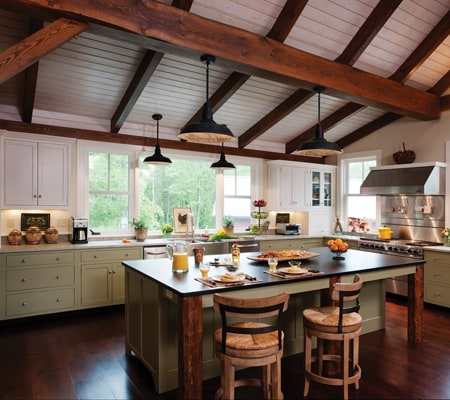 reclaimed-beams-ceiling-kitchen