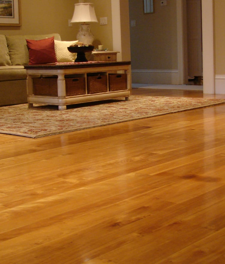 Red birch flooring cape cod ma nh boston ct ri for Birch wood floor