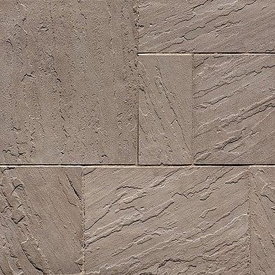 Rock Garden Brown Aberdeen Stone Slab Pavers