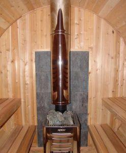 cedar board sauna
