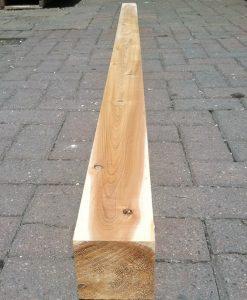 single cedar post