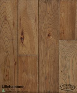 UV Oiled Hickory Flooring Lillehammer
