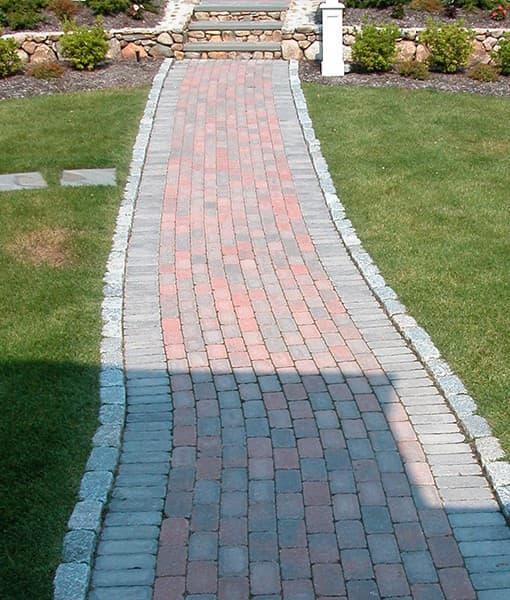 stone pavers walkway ideal block