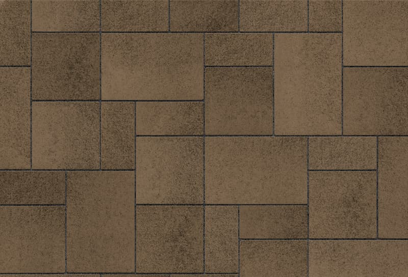 Umbriano Pavers Harvest Brown