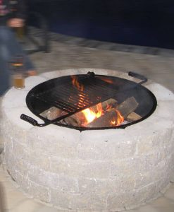 Wood Fire Pits & Fireplaces