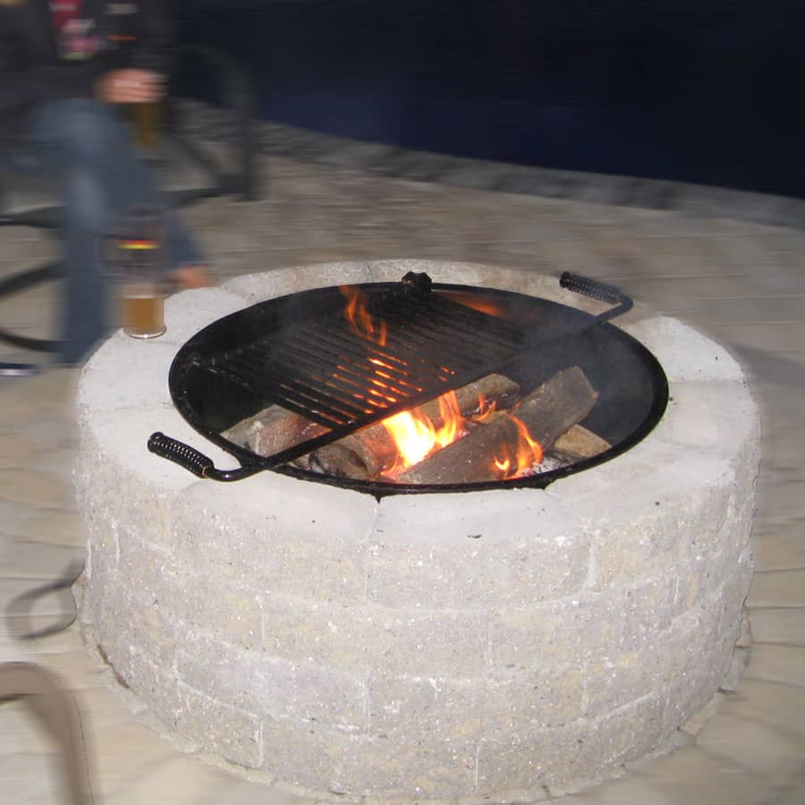 Wood Powered Fire Pit Kits Stonewood Products