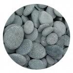 Black Mexican Beach Pebbles