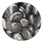 Polished Black Beach Pebbles