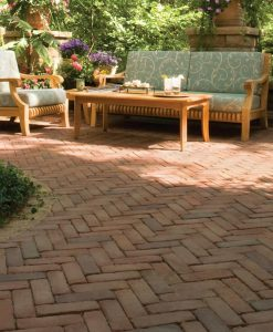 Burnt Clay Copthorne Pavers
