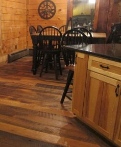 Heavy Sawn Oak Hardwood Flooring