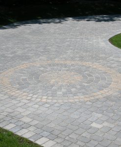 Millstone Quarry Blend Circle Pavers