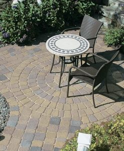 Millstone Vineyard Blend Circle Pavers
