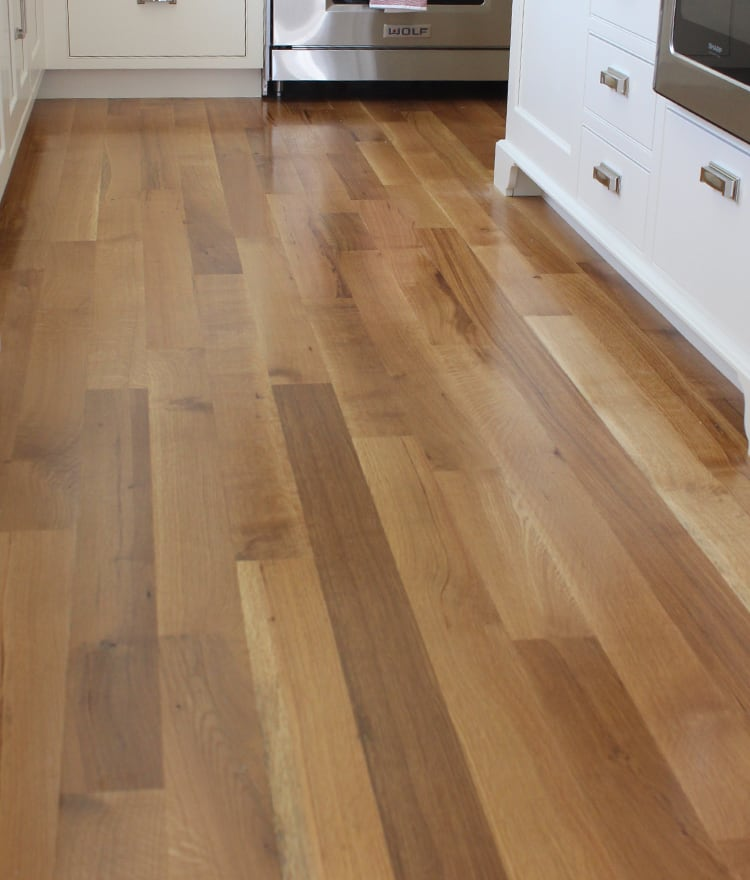 Oak Hardwood Flooring ~ Rift and quartered white oak flooring