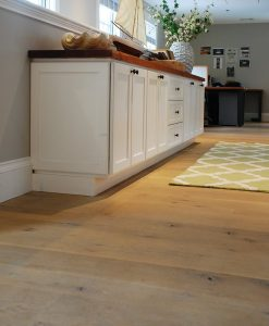 Whitewashed Rustic Oak Flooring