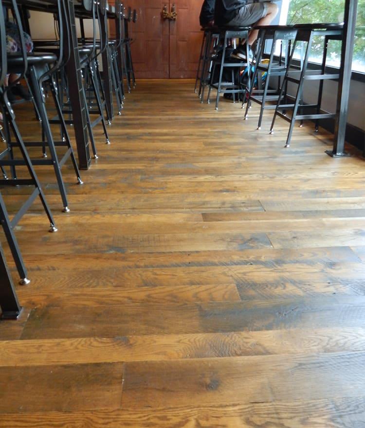 Auburndale flooring oiled hardwood floors prefinished for Commercial wood flooring