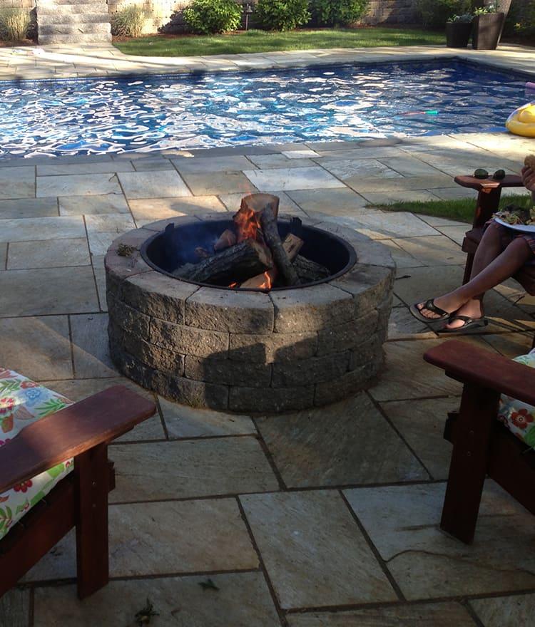 Fire Pit Kits | Stone, Gas, Wood Burning, Custom ...