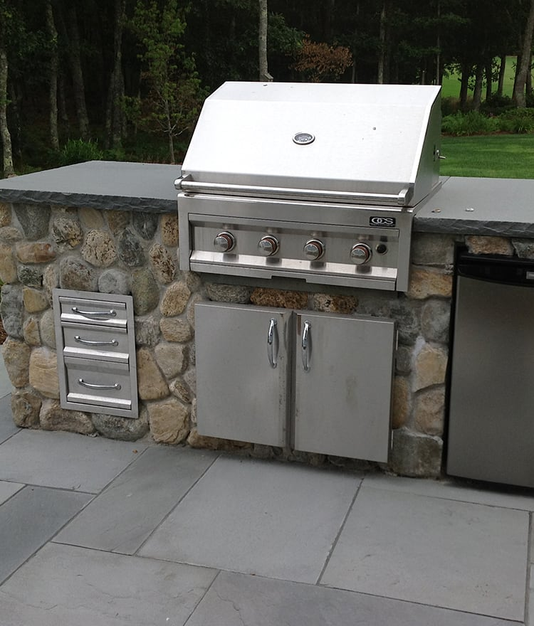 Outdoor kitchens kits cape cod ma ct ny for Outdoor kitchen equipment