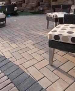 permeable pavers pool patio Nantucket