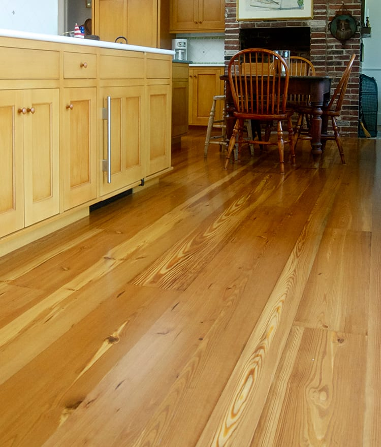 Reclaimed wood flooring pine oak more for Recycled hardwood floors