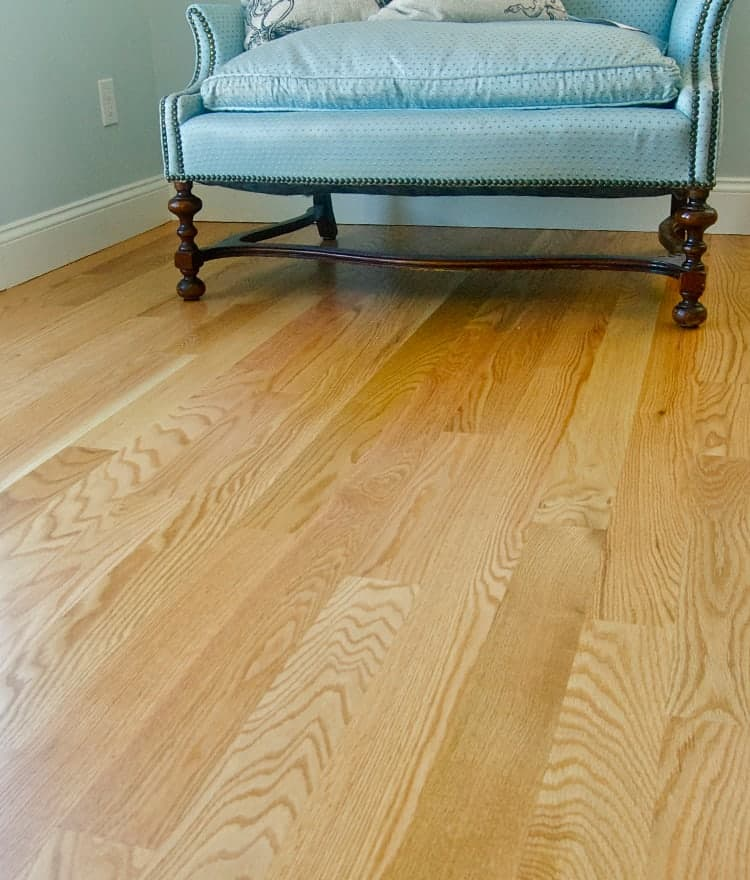 Red oak flooring hardwood floors unfinished for Unfinished oak flooring
