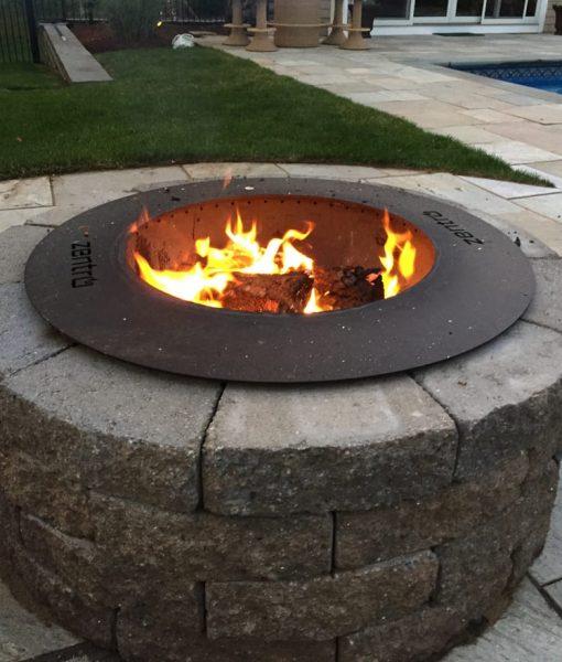 Fire Pit Kits Stone Gas Wood