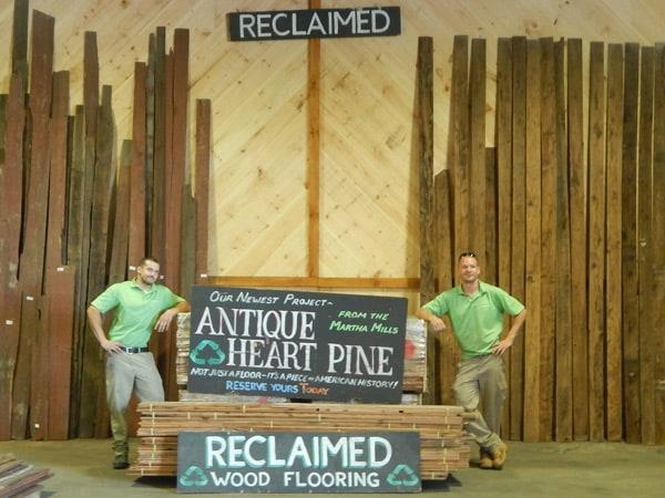 reclaimed wood flooring pine