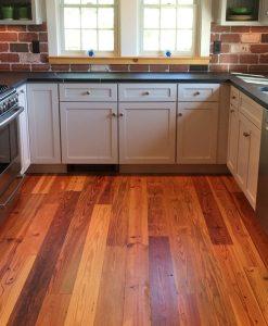reclaimed heart pine flooring