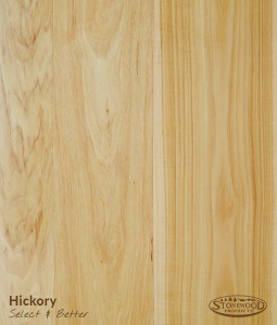Hickory Wood Flooring Select & Better Grade