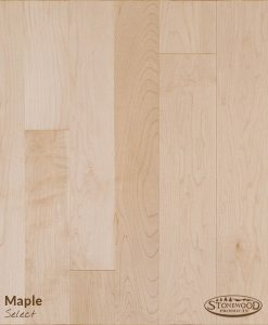 prefinished maple hardwood floor