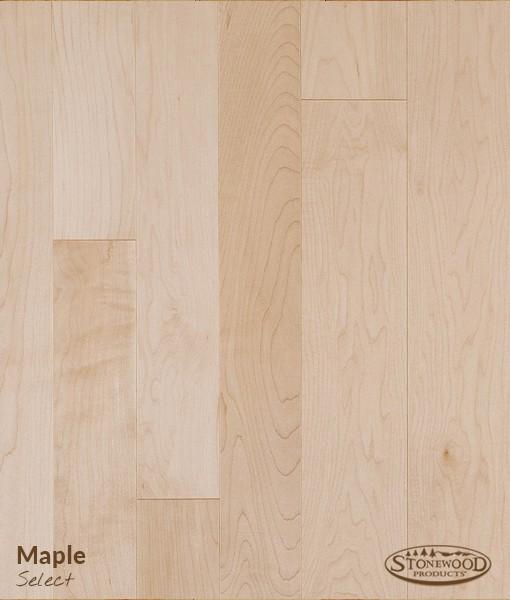 prefinished maple hardwood floor