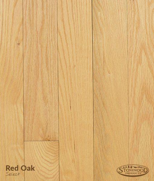 red oak select hardwood flooring