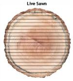 live sawn
