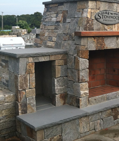 Keep Your Wood Dry And Conveniently Close With A Couple Of Fireboxes.