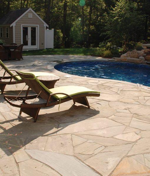 stone pavers pool