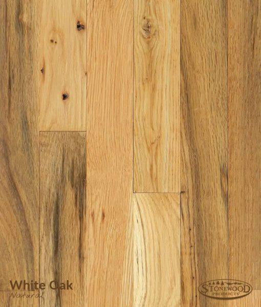 whiite oak rustic