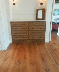 hardwood oak flooring live sawn