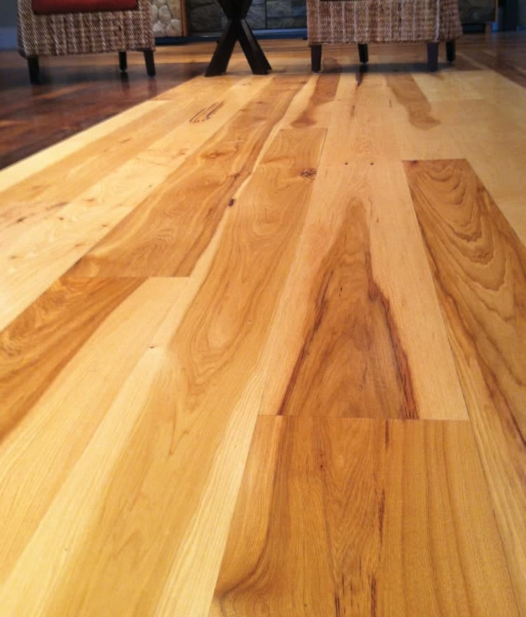Hickory Flooring Picture Of Real Wood Floors Ponderosa
