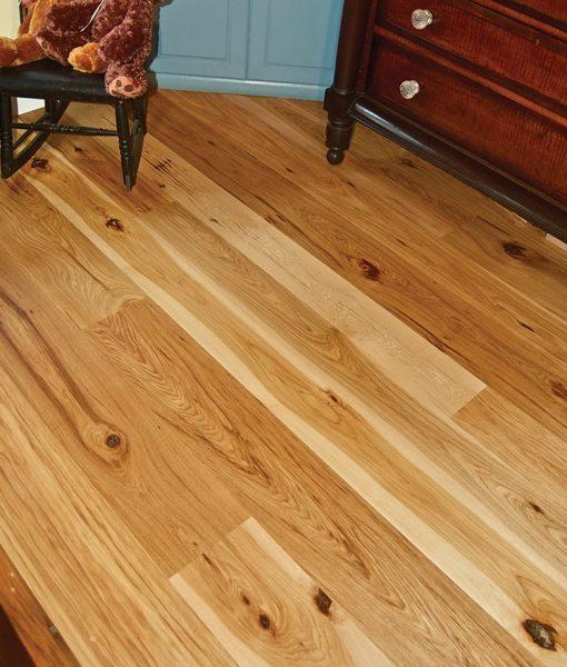 Rustic Hickory Plank Flooring