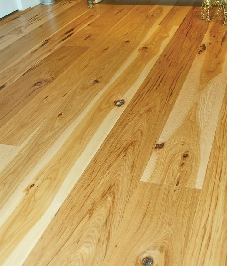 Rustic Wood Plank : hickory-rustic-plank-wood-floors