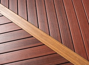 Red Mahogany Decking Cape Cod